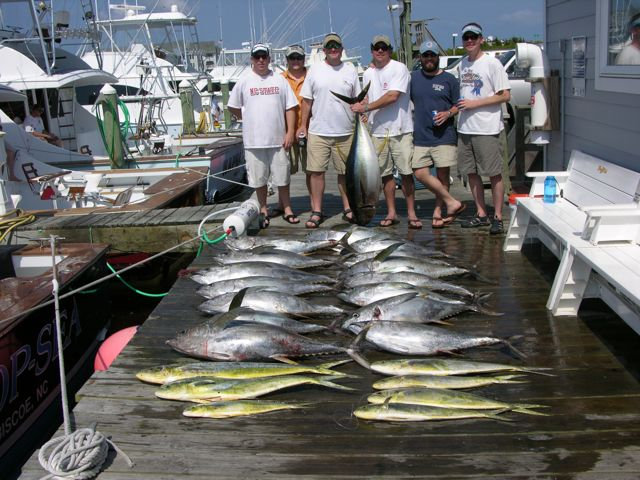 5-27-11, Great catch of Tunas