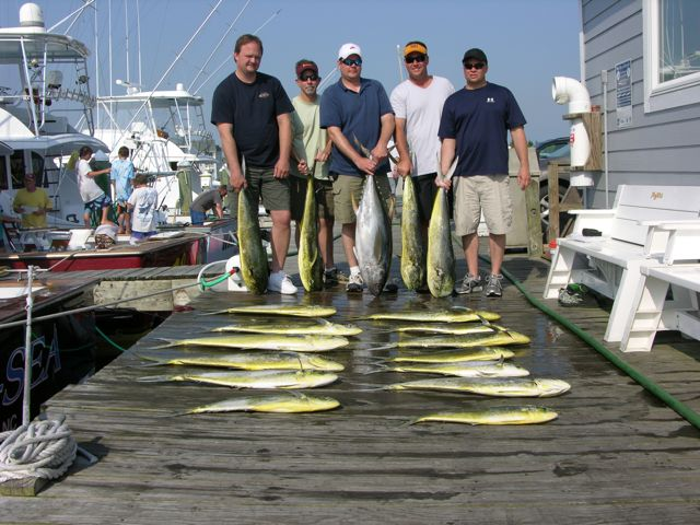 5-26-11, More Gaffers and a Lone Tuna